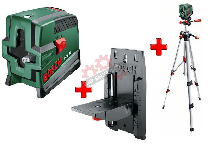 Bosch laser pcl 20 uchwyt poziomiczka for Laser bosch pcl 20