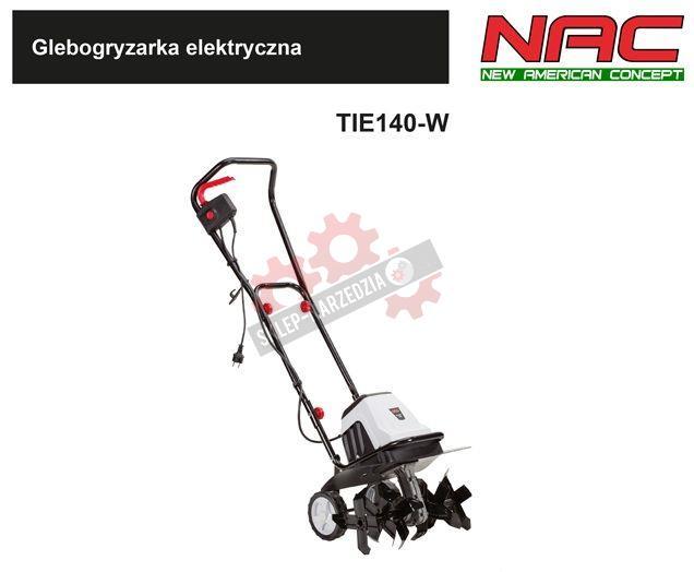 NAC Glebogryzarka elektryczna TIE140-W